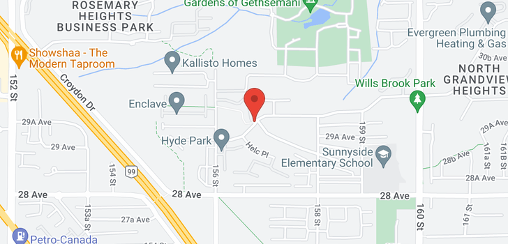 map of 45 15665 MOUNTAIN VIEW DRIVE