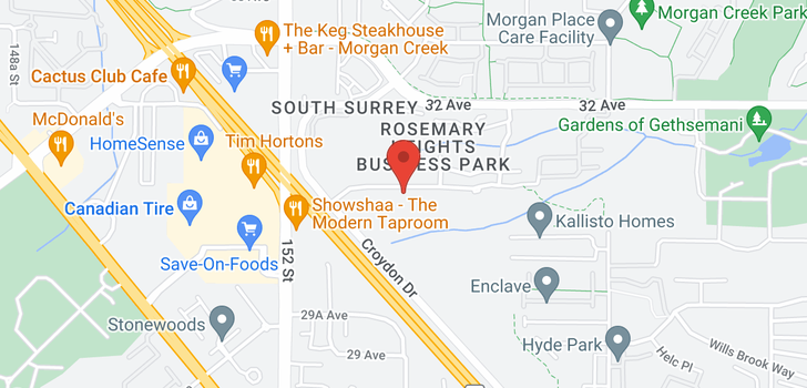 map of 406 15436 31 AVENUE