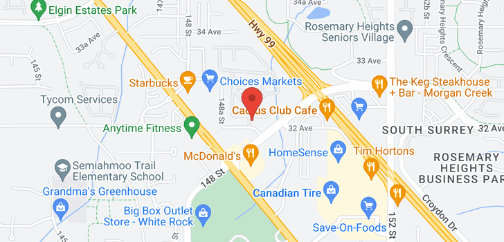 map of 63 14909 32 AVENUE