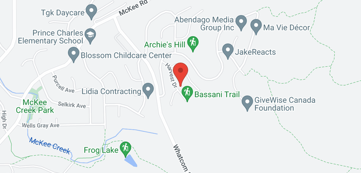 map of 3330 HARVEST DRIVE