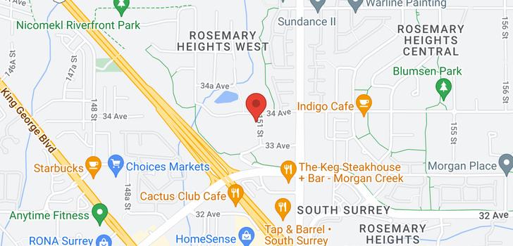 map of 1 3399 151 STREET