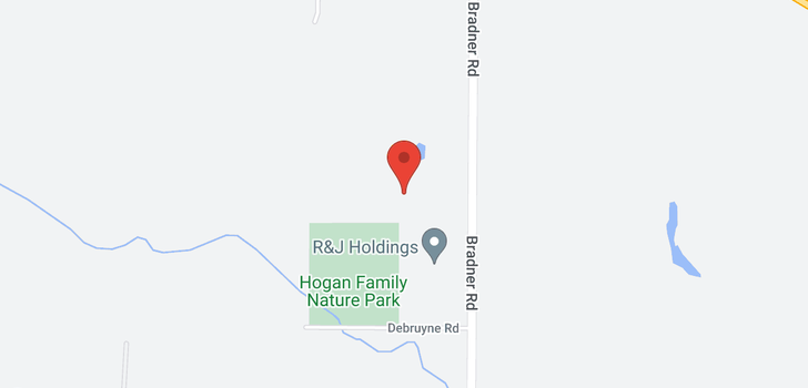 map of 3495 BRADNER ROAD