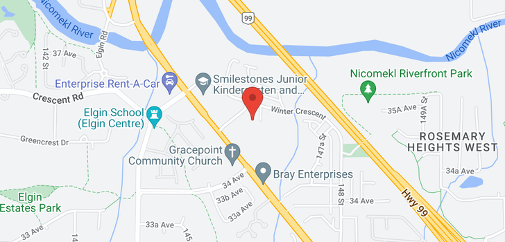 map of 104 3535 146A STREET