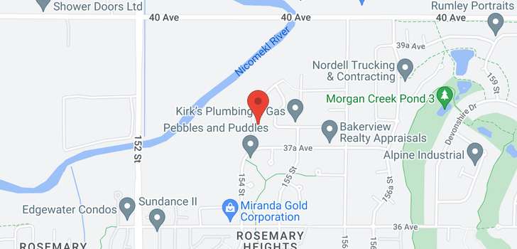 map of 3788 154 STREET
