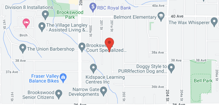 map of 3835 201A STREET