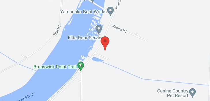 map of 3420 WEST RIVER ROAD