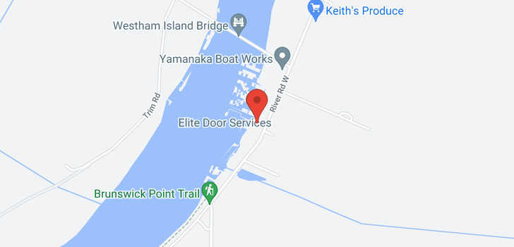 map of 3443 W RIVER ROAD