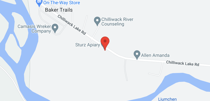 map of 46750 CHILLIWACK LAKE ROAD