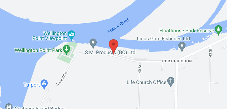 map of 9 3871 W RIVER ROAD
