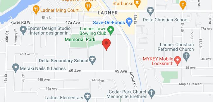 map of 4614 51 STREET