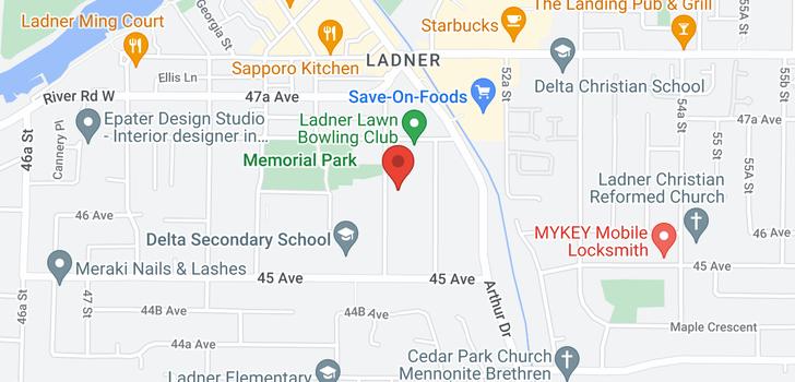 map of 4630 51 STREET