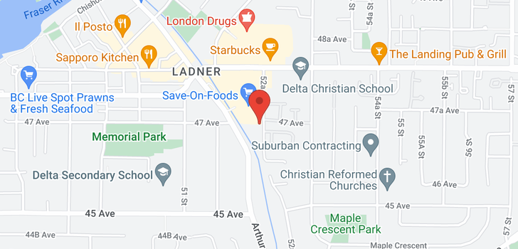 map of 304 4689 52A STREET