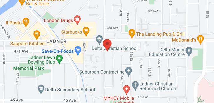 map of 406 4758 53 STREET