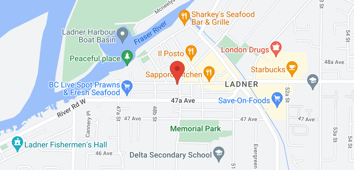map of 203 4926 48TH AVENUE