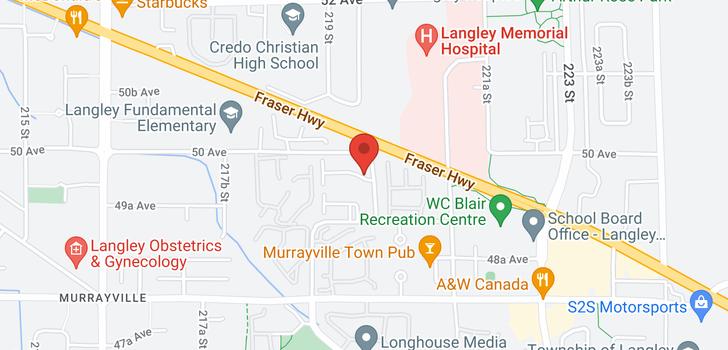 map of #54 4967 220 STREET