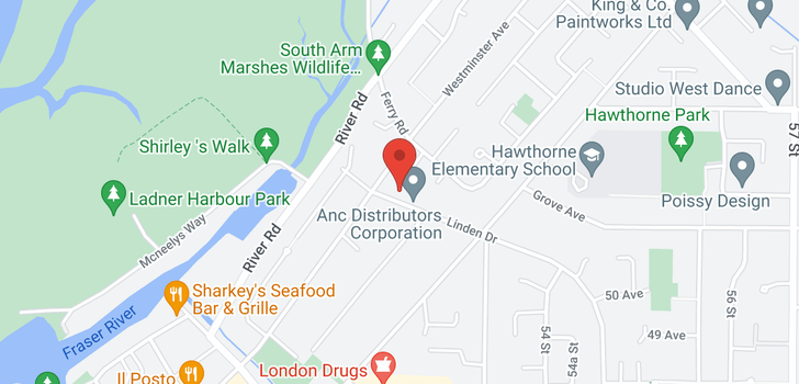 map of 5100 LINDEN DRIVE