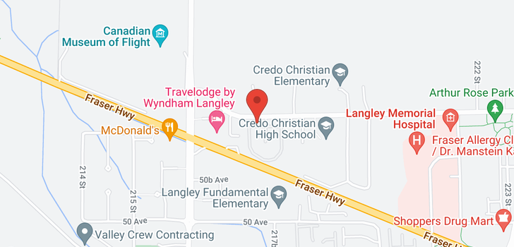 map of 4 21746 52 AVENUE