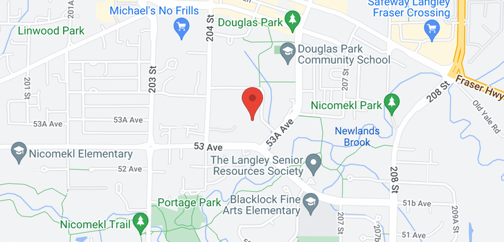 map of 107 5375 205 STREET
