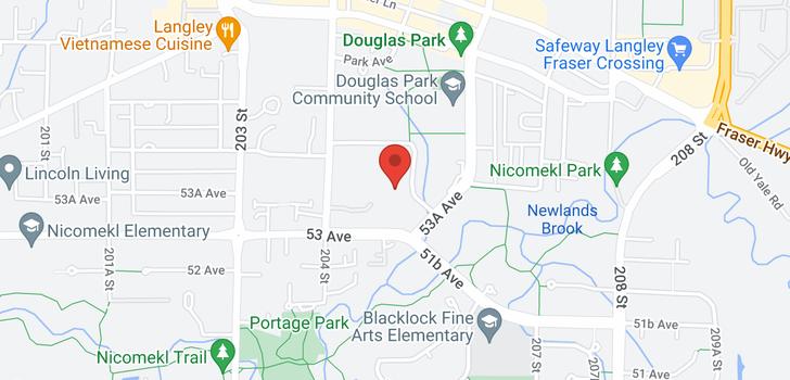 map of 106 5379 205 STREET