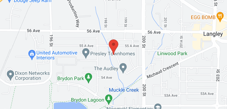 map of 505 5485 BRYDON CRESCENT