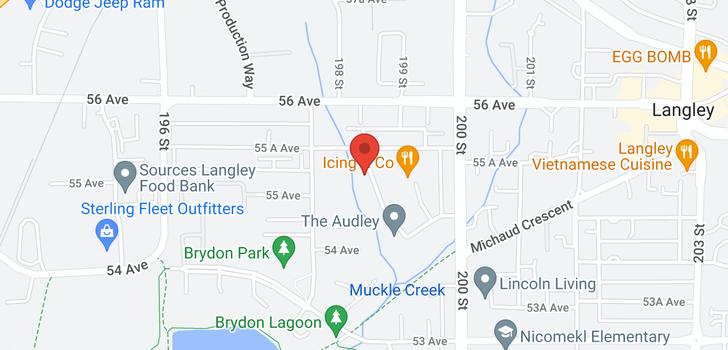 map of 302 5485 BRYDON CRESCENT