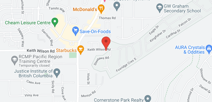 map of 206 45750-3 KEITH WILSON ROAD
