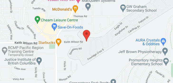 map of 208 45746 KEITH WILSON ROAD