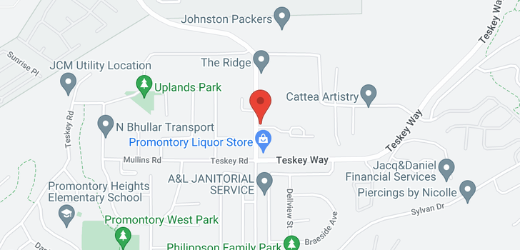 map of 33 5648 PROMONTORY ROAD