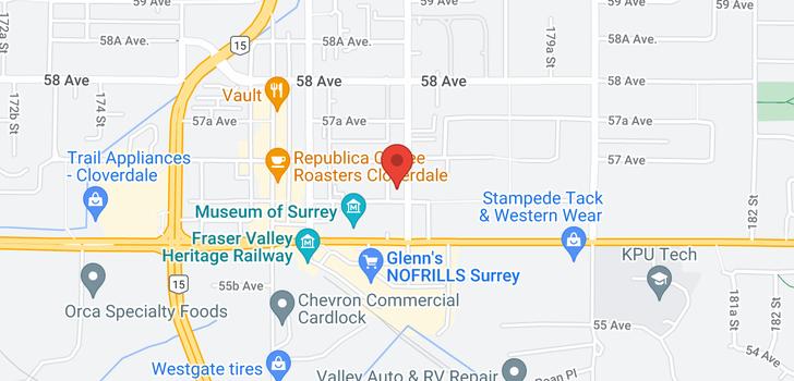 map of 103 5665 177B STREET