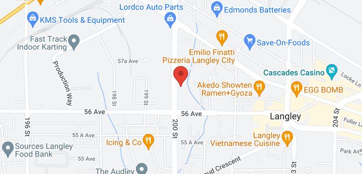 map of 306 5664 200 STREET