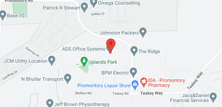 map of 46462 UPLANDS ROAD