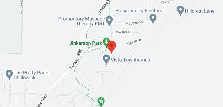 map of 47208 SKYLINE DRIVE
