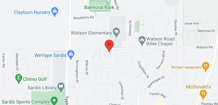 map of 3 45286 WATSON ROAD