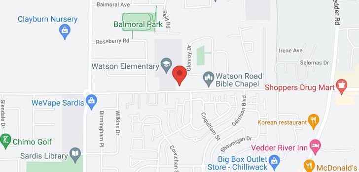 map of 45345 WATSON ROAD