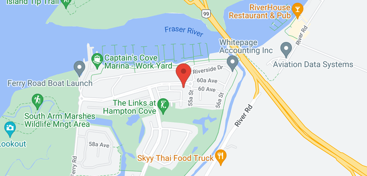 map of 78 5550 ADMIRAL WAY