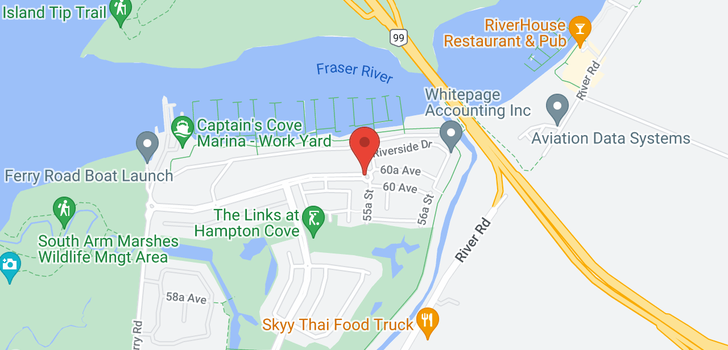 map of 62 5551 ADMIRAL WAY