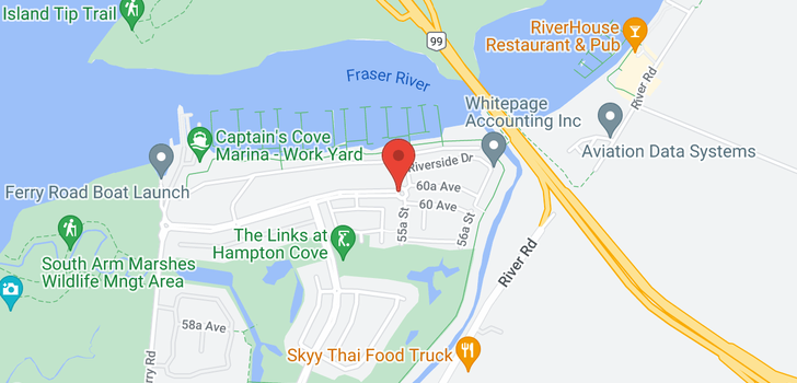 map of 73 5551 ADMIRAL WAY