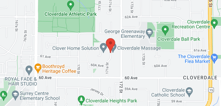 map of 6105 171A STREET