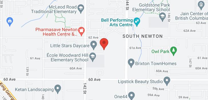map of 6150 143 STREET
