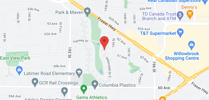map of 6147 E GREENSIDE       CLUSTER 31 DRIVE