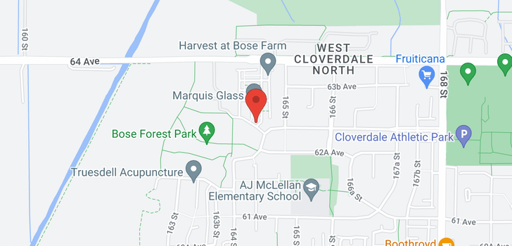 map of 129 16488 64 AVENUE
