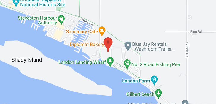 map of 315 6168 LONDON ROAD