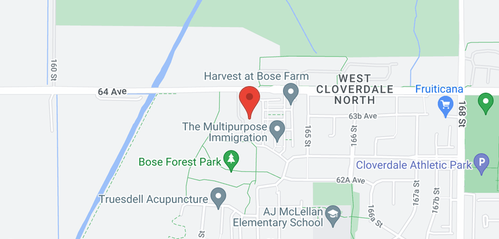 map of 403 16396 64 AVENUE