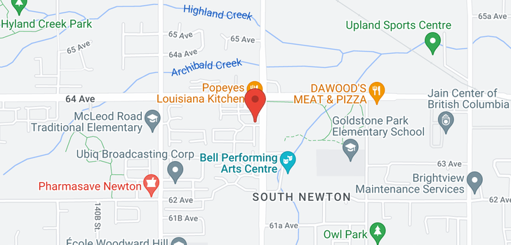 map of 9 14356 63A AVENUE