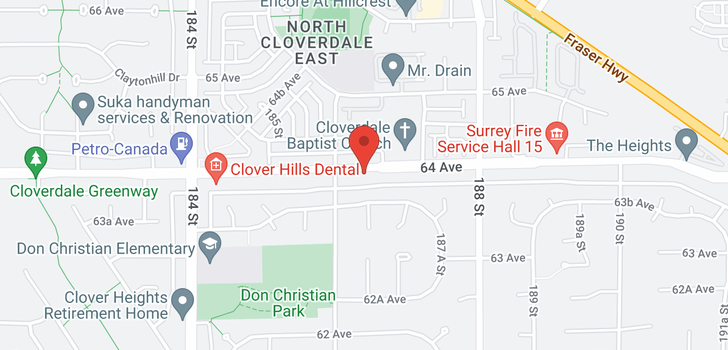 map of 18634 64 AVENUE