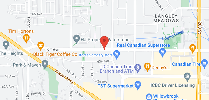map of 106 6468 195A STREET