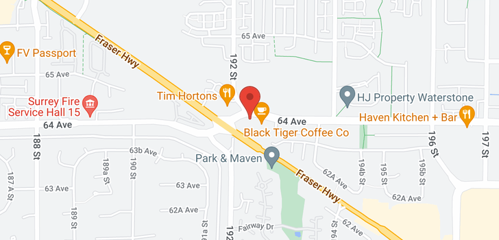 map of 209 19228 64TH AVENUE