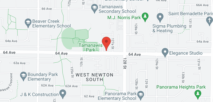 map of 31 12711 64TH AVENUE