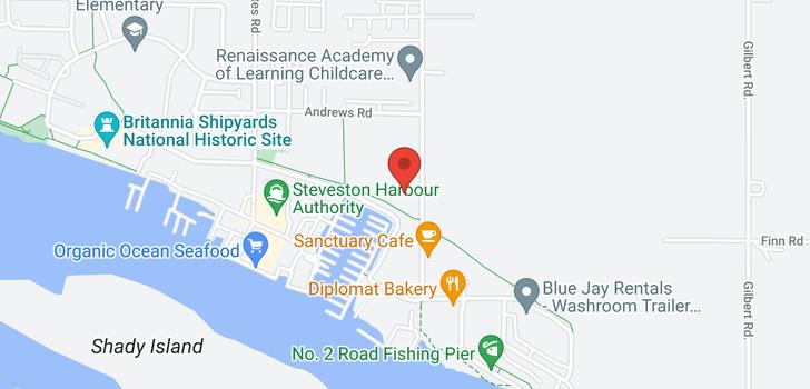 map of 324 12639 NO. 2 ROAD