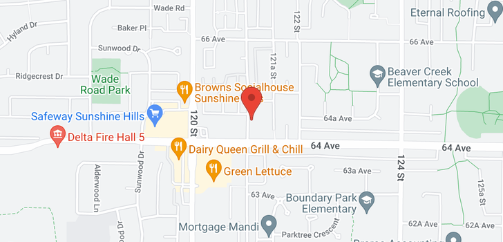 map of 1 6452 121 STREET